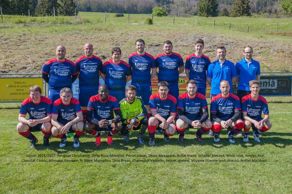 FC Boécourt 2 2016/2017