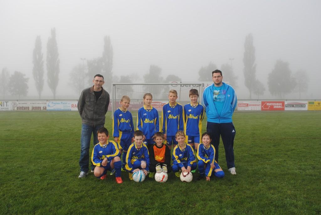 Joueur E FC Boécourt 2013 - 2014