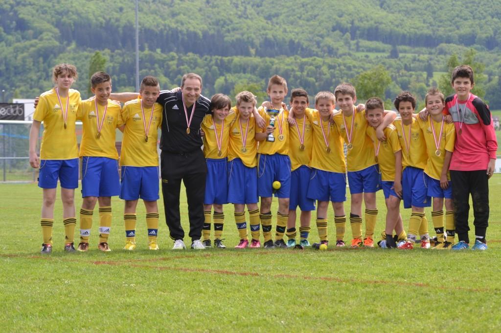 Juniors D FC Boécourt Finale coupe Jurassienne Courroux
